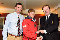 David Carroll RCYC/ KYC 1st under 14
