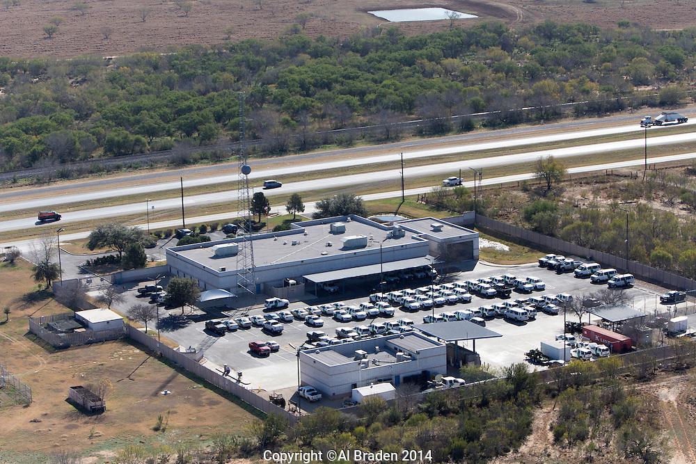 Border Patrol Station, Cotulla, TX