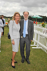 VISCOUNT & VISCOUNTESS COWDRAY at the 2009 Veuve Clicquot Gold Cup Polo final at Cowdray Park Polo Club, Midhurst, West Sussex on 19th July 2009.