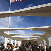 USS Arizona Memorial in Pearl Harbor, Hawaii