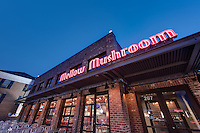 Blacksburg Mellow Mushroom Restaurant Exterior Image in Virginia by Jeffrey Sauers of Commercial Photographics, Architectural Photo Artistry in Washington DC, Virginia to Florida and PA to New England