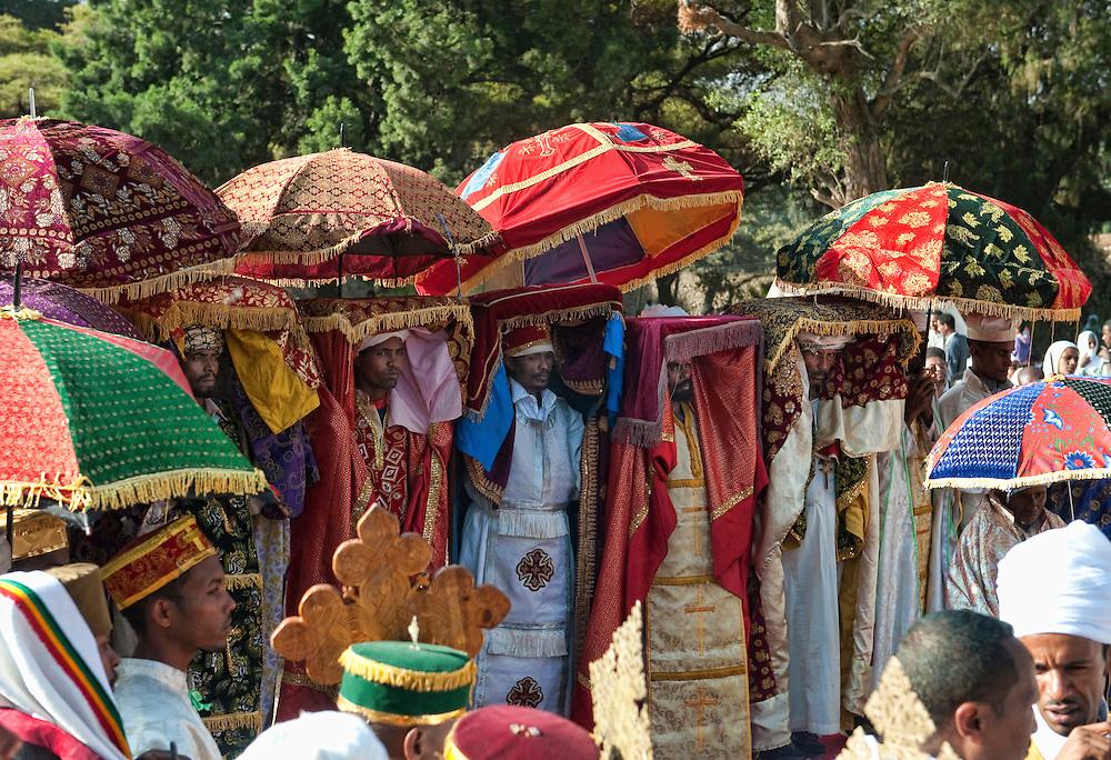Ethiopia, Gonder, Gonder, Gondar, Gonder, Gondar, Fasilidas Bath, Pool, Tmkat, Timket, Tabot