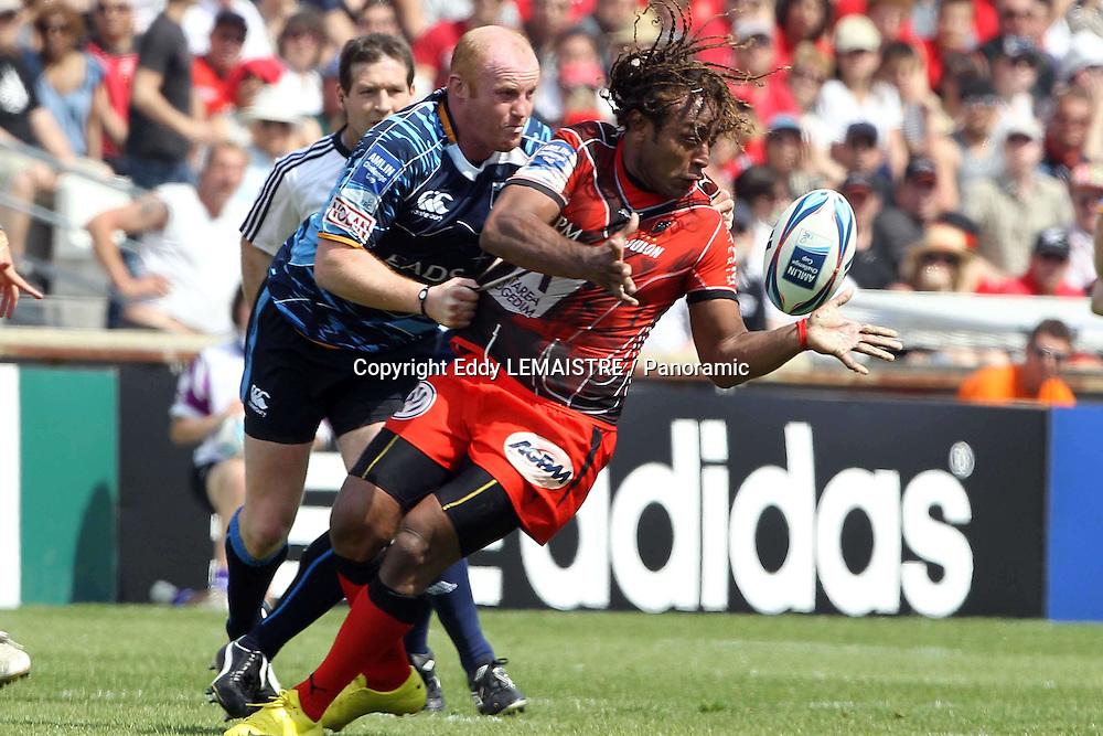 Rugby :   Finale Toulon - Cardiff Blues  - Fotunuupule Auelua  (RCT)  - Amlin Challenge Cup  - Stade Velodrome - Marseille - 23-05-10