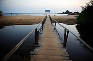 There are four beaches in Gokarna, of which Om beach is the most famous. It's a great place to unwind and an ideal stop-over.( A much better alternative to the hippie beaches in Goa).