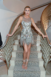 ABBEY CLANCY at Fashion For The Brave at The Dorchester, Park Lane, London on 8th November 2013.