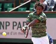 Gael Monfils (FRA)<br /> <br /> Tennis - French Open 2015 - Grand Slam ITF / ATP / WTA -  Roland Garros - Paris -  - France  - 1 June 2015.