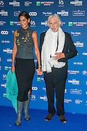 Pierre Richard et sa compagne lors de la cinquième cérémonie des Magritte du cinéma belge. De nombreuse personnalités du cinéma étaient présentes pour cette édition. Notamment Julie Gayet, Pierre Richard (Magritte d'Honneur), François Damiens, Thierry Lhermitte mais également SAR le Prince Laurent et la Princesse Claire de Belgique