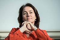 08 APR 2019, BERLIN/GERMANY:<br /> Dr. Katarina Barley, SPD, Bundesjustizministerin und Spitzenkandidatin der SPD fuer die Europawahl,<br /> Veranstaltung des Wirtschaftsforums der SPD &quot;Neue Perspektiven fuer Europa&quot;, Deutsche Parlamentarische Gesellschaft<br /> IMAGE: 20190408-01-071