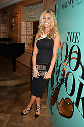 TESS DALY at a party hosted by Ewan Venters CEO of Fortnum & Mason to celebrate the launch of The Cook Book by Tom Parker Bowles held at Fortnum & Mason, 181 Piccadilly, London on 18th October 2016.