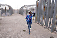 Rome, Italy. 31rd December 2015.<br /> Migrants detained in the Center for Identification and Expulsion (CIE)  to Ponte Galeria in Rome. Currently in the Center for Identification and Expulsion are held 40 women,half of them Nigerian women.