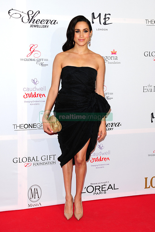Meghan Markle attending the Eva Longoria Global Gift Gala at ME London in central London.
