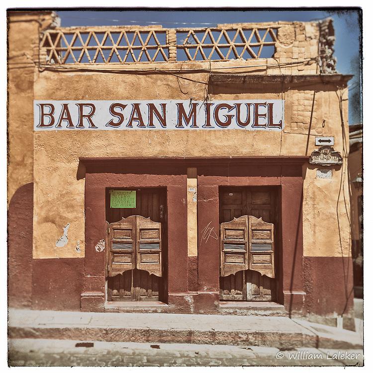 The Bar San Miguel in San Miguel de Allende, Central Mexico