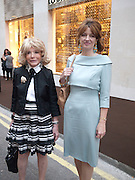 LADY WYATT; PETRONELLA WYATT, Louis Vuitton openingof New Bond Street Maison. London. 25 May 2010. -DO NOT ARCHIVE-© Copyright Photograph by Dafydd Jones. 248 Clapham Rd. London SW9 0PZ. Tel 0207 820 0771. www.dafjones.com.