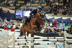 Hassmann Felix, (GER), Horse Gym's Balzaci<br /> Champion von München<br />  Jumping München 2015<br /> © Hippo Foto - Stefan Lafrentz
