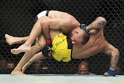 May 28, 2017 - Stockholm, SVERIGE - 170528 Sveriges Reza Madadi tÅ vlar mot Brasiliens Joaquim Silva i lÅ ttvikt under kampsportsgalan UFC Fight Night den 28 maj 2017 i Stockholm  (Credit Image: © Joel Marklund/Bildbyran via ZUMA Wire)