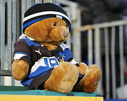Mascot at The Recreation Ground - Photo mandatory by-line: Paul Knight/JMP - Mobile: 07966 386802 - 10/01/2015 - SPORT - Rugby - Bath - The Recreation Ground - Bath Rugby v Wasps - Aviva Premiership