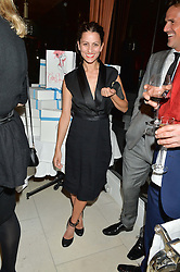 Singer MARTINA SORBARA frontwoman of the band Dragonette at a dinner to celebrate the publication of Obsessive Creative by Collette Dinnigan hosted by Charlotte Stockdale and Marc Newson held at Mr Chow, Knightsbridge, London on 9th February 2015.