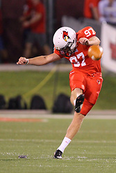 06 Sep 2014: Sean Slattery during a non-conference NCAA football game between the Delta Devils of Mississippi Valley State and the Redbirds of Illinois State at Hancock Stadium in Normal Il