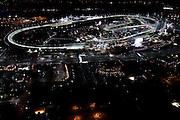 January 30-31, 2016: Daytona 24 hour: Daytona Speedway banking from the air