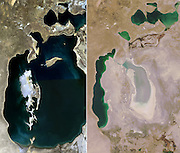 Where Cargo Ships Go To Die <br /> <br /> Muynak is a city in northern Karakalpakstan in western Uzbekistan. Home to only a few thousand residents at most, Muynak's population has been declining precipitously since the 1980s due to the recession of the Aral Sea.<br /> <br /> Once a bustling fishing community, Muynak is now a shadow of its former self, dozens of miles from the rapidly receding shoreline of the Aral Sea. Fishing had always been part of the economy of the region, and Muynak became a center of industrial fishing and canning. A regional agricultural monoculture dominated by cotton production which diverts water from tributary rivers of the sea into irrigation, and severe pollution caused by agricultural chemical runoff, are causing the sea to evaporate and the water that remains is highly saline and very toxic, causing the ecological disaster which is inevitably destroying the sea and killing the residents of the towns in its vicinity, including Muynak.<br /> <br /> Muynak is now home to a incongruous armada of rusting hulks that once made up the proud fishing fleet during the Soviet era. Poisonous dust storms kicked up by strong winds across the dried and polluted seabed give rise to a multitude of chronic and acute illnesses among the few residents, weather unmoderated by the sea now buffets the town with hotter-than-normal summers and colder-than-normal winters.<br /> <br /> The Aral Sea was once the world's fourth-largest saline body of water, it has been steadily shrinking since the 1960s, after the rivers that fed it were diverted by Soviet Union irrigation projects. By 2004, the sea had shrunk to 25% of its original surface area, and a nearly fivefold increase in salinity had killed most of its natural flora and fauna. By 2007 it had declined to 10% of its original size, splitting into three separate lakes, two of which are too salty to support fish. The once prosperous fishing industry has been virtually destroyed, and former fishing towns along 