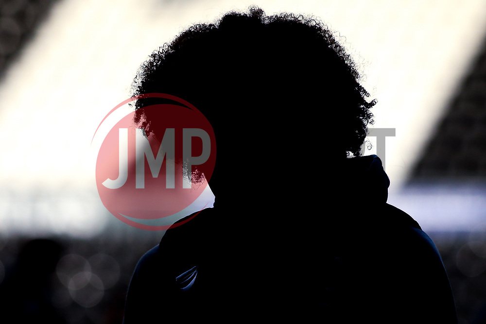 Han-Noah Massengo of Bristol City arrives at Pride Park for the Sky Bet Championship fixture against Derby County - Mandatory by-line: Robbie Stephenson/JMP - 20/08/2019 - FOOTBALL - Pride Park Stadium - Derby, England - Derby County v Bristol City - Sky Bet Championship