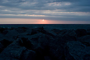 Fort Fisher at sunrise.