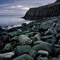 Höfðaströnd við Hofsós. Hofdastrond shore at Hofsos, North Iceland.