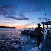 Fishing at Kandui, Mentawais Islands, Indonesia