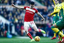 Callum O'Dowda of Bristol City scores and celebrates - Mandatory by-line: Phil Chaplin/JMP - FOOTBALL - Carrow Road - Norwich, England - Norwich City v Bristol City - Sky Bet Championship