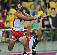 Wellington-AFL, St Kilda Saints v Sydney Swans, April 25