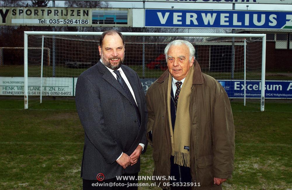 Koos Droger en Henk de Lange SV Huizen