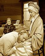 Uncle Vanya<br /> by Anton Chekhov<br /> in a new version by Mike Poulton<br /> at The Print Room, London, Great Britain <br /> 23rd March 2012 <br /> <br /> Caroline Blakiston (as Maria Vasilyevna)<br /> Charlotte Emmerson (as Sonya)<br /> Iain Glen (as Uncle Vanya)<br /> Andrew Hanratty (as Yefim)<br /> William Houston (as Astrov)<br /> Lucinda Millward (as Yelena)<br /> Marlene Sidaway (as Marina)<br /> David Shaw-Parker (as Telegin)<br /> David Yelland (as Professor)<br /> <br /> Photograph by Elliott Franks