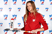 Warsaw, Poland - 2017 December 08: Tennis player Martyna Kubka from Poland poses while Photo Session of Fed Cup Team of Polish Tennis Association at Mera Tennis Club on December 08, 2017 in Warsaw, Poland.<br /> <br /> Mandatory credit:<br /> Photo by &copy; Adam Nurkiewicz / Mediasport<br /> <br /> Adam Nurkiewicz declares that he has no rights to the image of people at the photographs of his authorship.<br /> <br /> Picture also available in RAW (NEF) or TIFF format on special request.<br /> <br /> Any editorial, commercial or promotional use requires written permission from the author of image.
