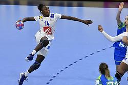 France player Kalidiatou Niakate during the Women's european handball chanmpionship preliminary round, Slovenia vs France. Nancy, Fance -02/12/2018//POLEMILE_01POL20181202NAN033/Credit:POL EMILE / SIPA/SIPA/1812021731