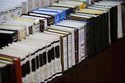 Israel, Tel Aviv, Beit Daniel, Tel Aviv's first Reform Synagogue. Jewish prayer books - Sidur