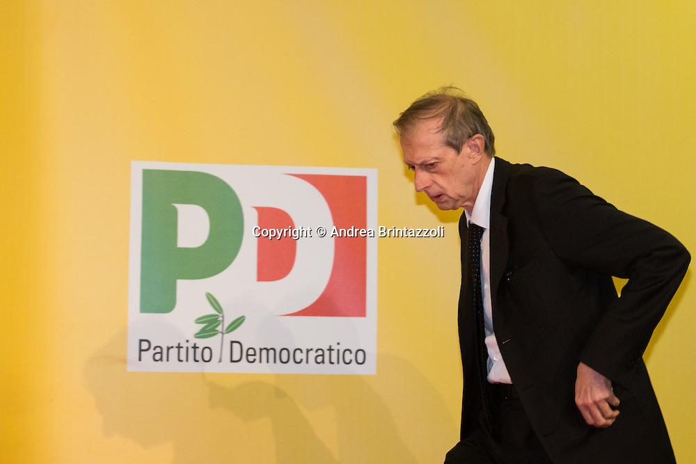 Bologna 22 Aprile 2015 Festa Nazionale dell&rsquo;Unit&agrave; - 70 anni di Feste. Le sfide dei Governi locali.<br /> Nella Foto: Piero Fassino Sindaco di Torino e Presidente ANCI
