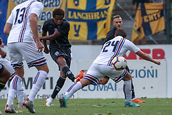 July 28, 2018 - Trento, TN, Italy - Yeves Baraye during the Pre-Season friendly between Sampdoria and Parma, in Trento on July 28, 2018, Italy  (Credit Image: © Emmanuele Ciancaglini/NurPhoto via ZUMA Press)