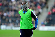Readings Ola John during the Sky Bet Championship match between Milton Keynes Dons and Reading at stadium:mk, Milton Keynes, England on 16 January 2016. Photo by Dennis Goodwin.