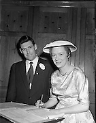 07/06/1958<br /> 06/07/1958<br /> 07 June 1958<br /> <br /> Wedding - Cyril P. Geran and W McHenry at Church of Assumption, Howth and Royal Hotel, Howth