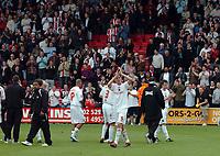 Photo: Kevin Poolman.<br />AFC Bournemouth v Brentford. Coca Cola League 1. 06/05/2006. Brentford's Michael Turner after the game.