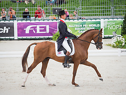William Fox Pitt, (GBR), Chilli Morning - Dressage Eventing - Alltech FEI World Equestrian Games™ 2014 - Normandy, France.<br /> © Hippo Foto Team - Shannon Brinkman<br /> 25/06/14
