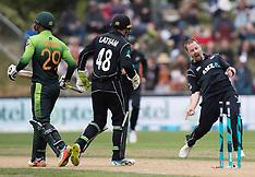Dunedin-Cricket, International, New Zealand v Pakistan, 3rd one day