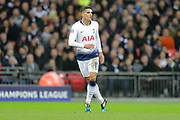 Tottenham Hotspur midfielder Erik Lamela (11) during the Champions League group stage match between Tottenham Hotspur and Inter Milan at Wembley Stadium, London, England on 28 November 2018.