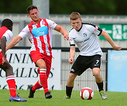 JORDAN CRAWFORD CORBY TOWN, Corby Town v Romulus Steel Park, Corby Evo-Stik Northern Premier Division One South Saturday 12th August 2017