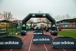 First meeting of Adidas running school - Adidasova poletna sola teka 2015, on March 27, 2015 in Kodeljevo, Ljubljana, Slovenia. Photo by Vid Ponikvar / Sportida