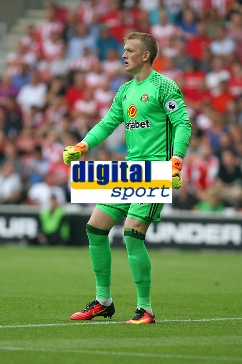 Football - 2016 / 2017 Premier League - Southampton vs. Sunderland<br /> <br /> Jordan Pickford of Sunderland at St Mary's Stadium Southampton <br /> <br /> Colorsport/Shaun Boggust