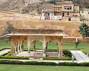 Pavilion outside the Amber Palace, Amber, Rajasthan