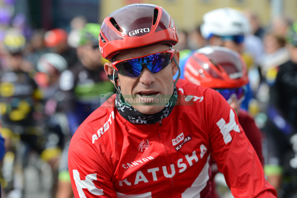 August 11, 2016 - Rognan, Norway - Norwegian rider Alexander Kristoff from Team Katusha ahead of the opening stage of the Arctic Race of Norway from Bodo to Rognan..On Thursday, 11 August 2016, in Rognan, Norway. (Credit Image: © Artur Widak/NurPhoto via ZUMA Press)