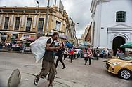 Medellin, Antioquia, Colombia: street scene.