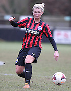 Danielle Carlton during the Women's FA Cup match between Watford Ladies FC and Brighton Ladies at the Broadwater Stadium, Berkhampstead, United Kingdom on 1 February 2015. Photo by Stuart Butcher.